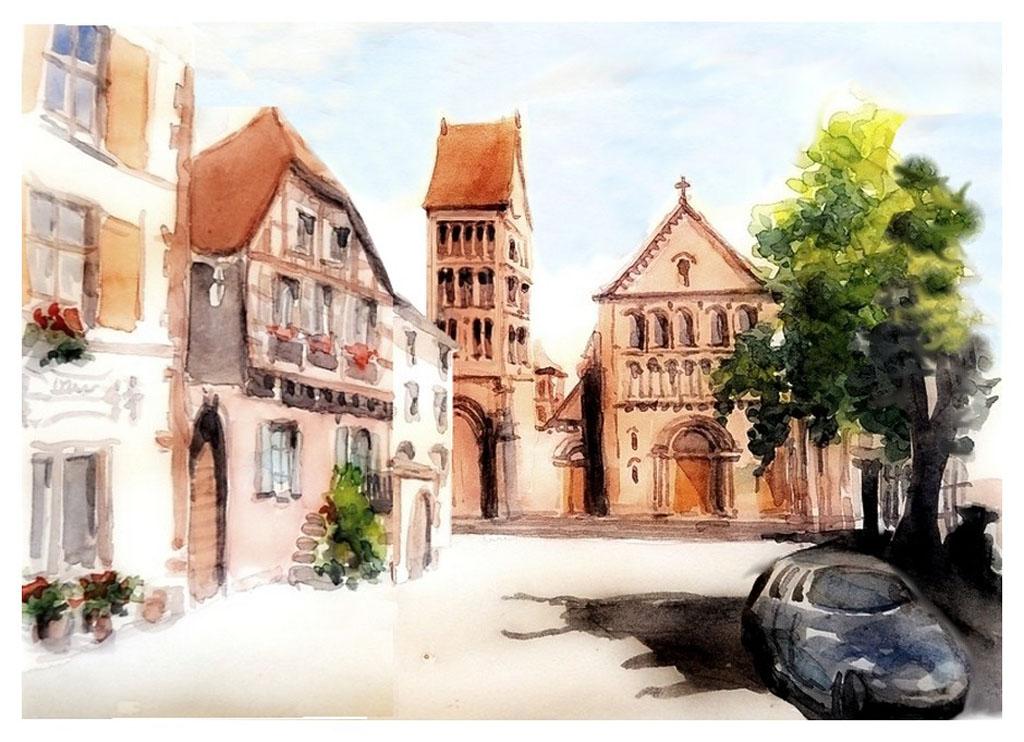Guy-MOLL-Gueberschwihr---Alsace---France---le-clocher-roman.jpg