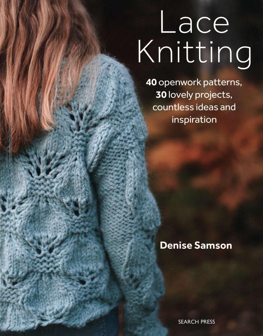 Книга по вязанию Denise Samson «Lace Knitting» 2019