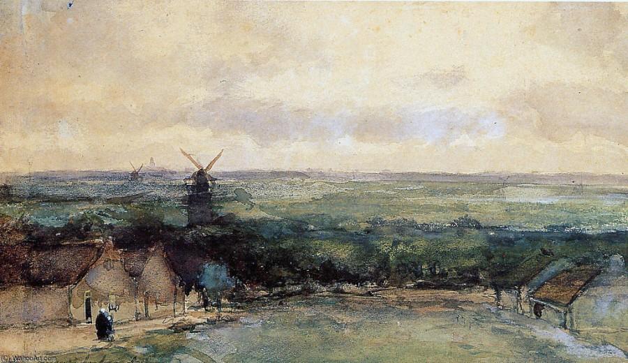 Johan_Hendrik_Weissenbruch-Landscape_With_Mills.jpg