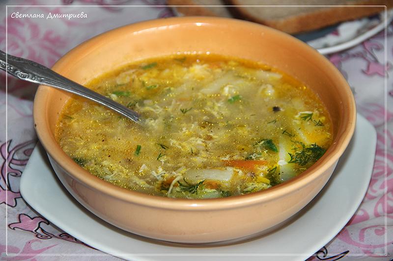 суп кудрявый