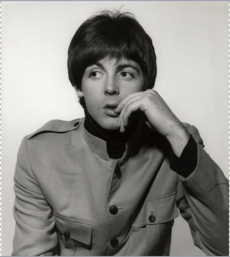 Сэр Джеймс Пол Маккартни (James Paul McCartney) Национальная портретная галерея в Лондоне (англ. National Portrait Gallery)