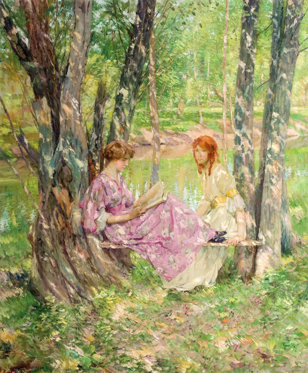 Two_Women_in_a_Garden_by_Francis_Coates_Jones.jpg