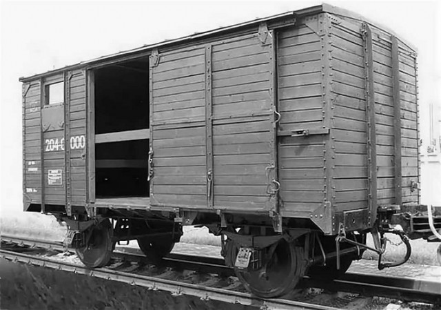 Наш вагон был похож на этот. Фото из интернета.